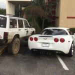 Quando il parcheggio è disastroso