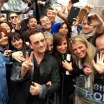 Gli U2 a Che tempo che fa