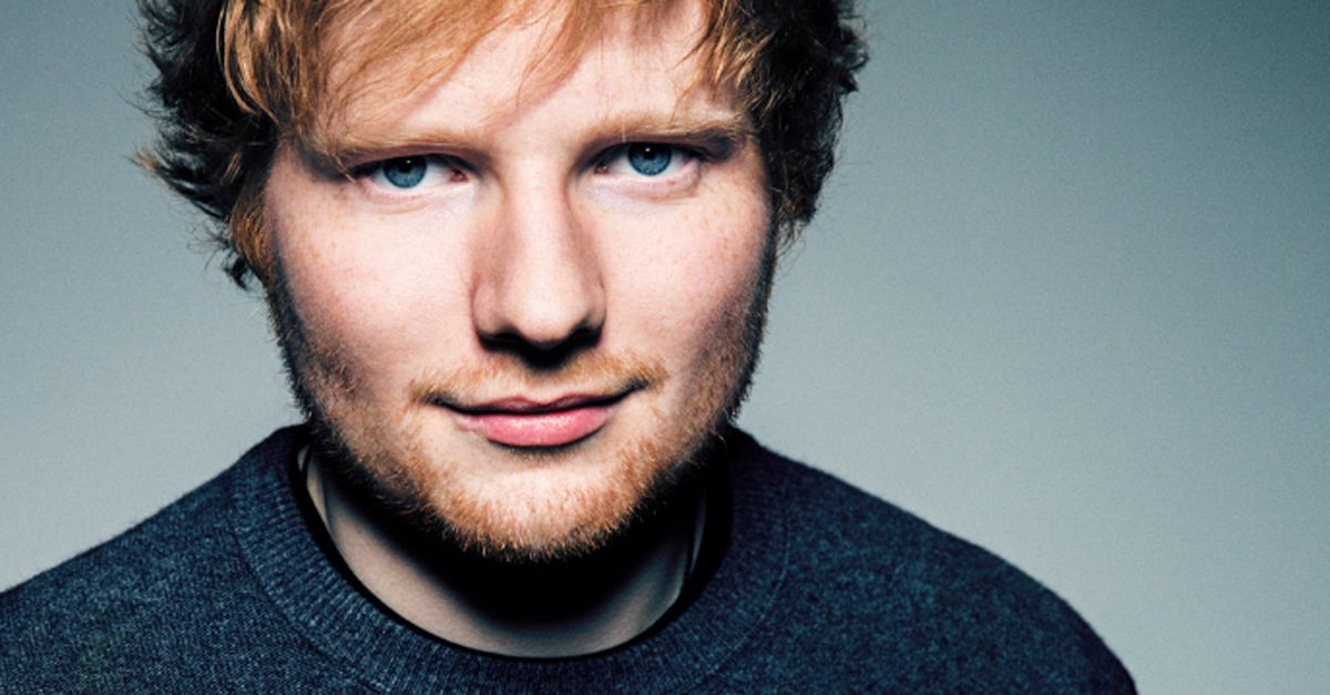 "Ed Sheeran, in esclusiva il live di ""Thinking Out Loud"""