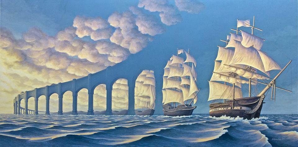 Nulla è come sembra: le illusioni ottiche di Rob Gonsalves tra realtà e sogno