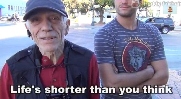 Se dovessi dire una sola cosa ad un giovane… Gli anziani di tutto il mondo rispondono