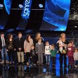 #Sanremo 2015, sul palco la famiglia più numerosa d'Italia