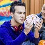 Arturo Brachetti e Luca Bono
