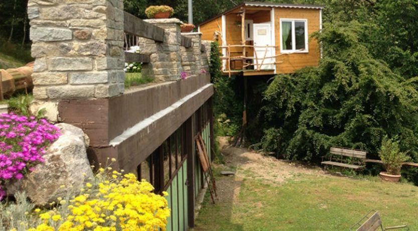 10 case sull 39 albero dove dormire in italia radio deejay for Casa sull albero firenze
