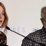 Woody Allen presenta il suo Irrational Man a Cannes, con Emma Stone e Joaquin Phoenix