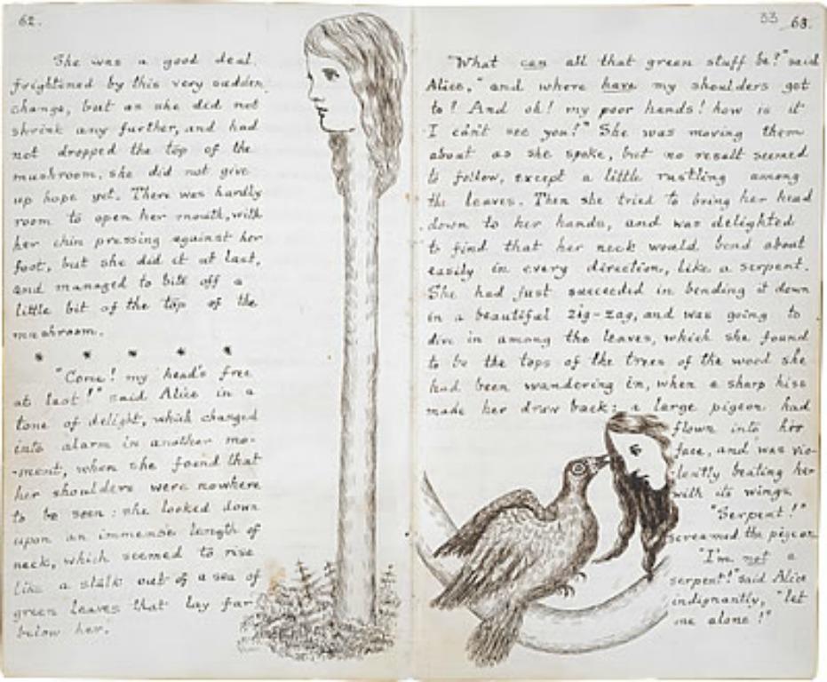 I 150 anni di alice 10 fatti straordinari che non - Frasi di alice attraverso lo specchio ...