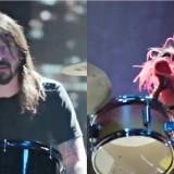 I Muppets sfidano Dave Grohl alla batteria: la gara di assoli è gagliarda