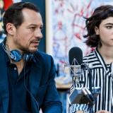 Stefano Accorsi e Matilda De Angelis, piloti al cinema: 'Abbiamo corso anche tra i sassi di Matera'