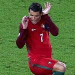 Cristiano Ronaldo, terrore in campo: lo scatto diventa meme