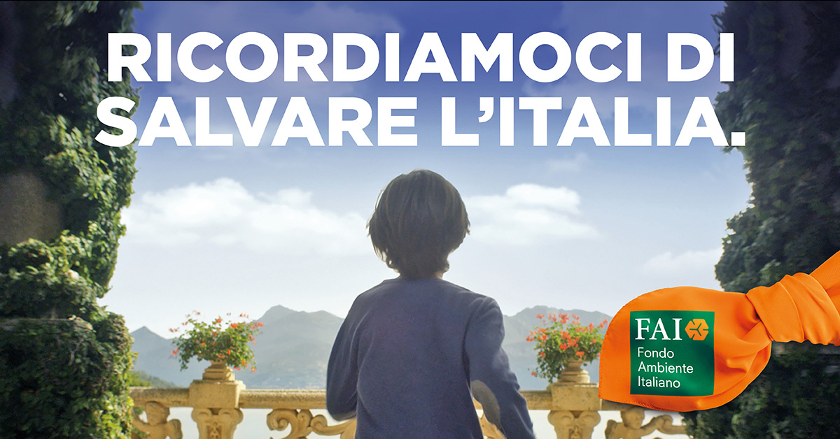 Ottobre è il mese del FAI: ricordati di salvare l'Italia | Radio Deejay
