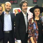 Amore e violenza a DJCI: i Baustelle presentano il nuovo disco a Linus e Nicola