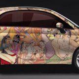 Lapo Elkann provoca ancora: ecco la Fiat 500 Kar_masutra