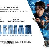 """Luc Besson torna al cinema col visionario film """"Valerian e la città dei mille pianeti"""". Nelle sale dal 21 settembre"""