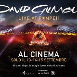 """""""David Gilmour Live at Pompeii"""". In anteprima la clip del live che sarà nei cinema dal 13 al 15 settembre"""