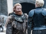 Kristofer Hivju as Tormund Giantsbane and Gwendoline Christie as Brienne of Tarth– Photo: Helen Sloan/HBO