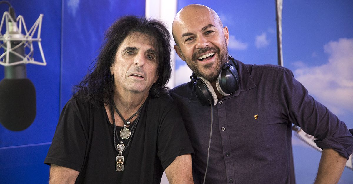 Alice Cooper a Tropical Pizza: Nikki intervista La Leggenda