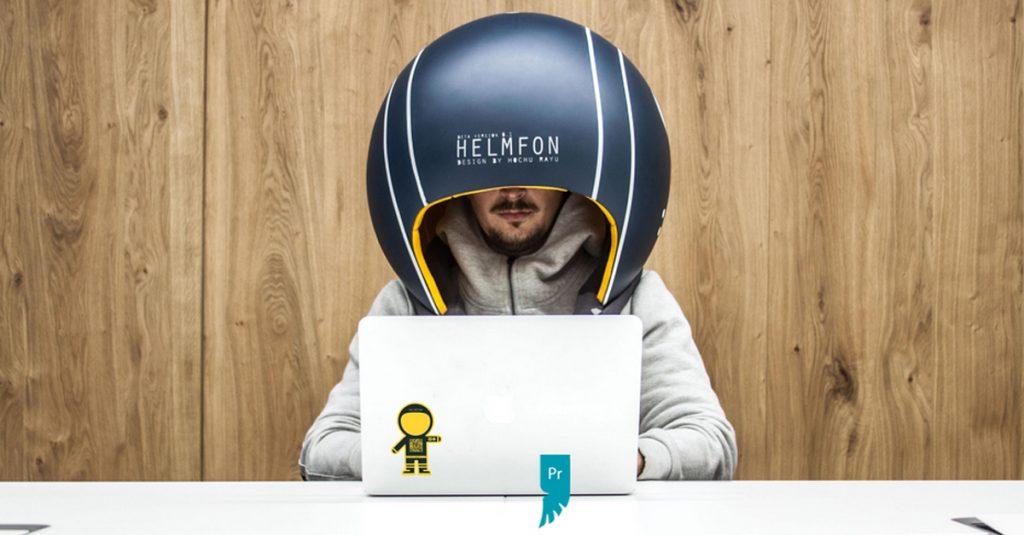 Ecco il casco da ufficio per isolarsi dai colleghi for Musica rilassante da ufficio