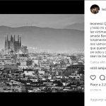 Attentato a Barcellona: il cordoglio di cantanti, attori e sportivi sui social