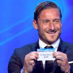 Champions League, Totti pesca il Barcellona per la Juve e scoppia a ridere in faccia a Buffon