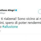 Livorno, da Allegri a Paolo Ruffini: i messaggi social delle star livornesi (e non solo)