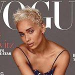 Zoë Kravitz è in copertina su  Vogue, la dedica del padre Lenny diventa virale
