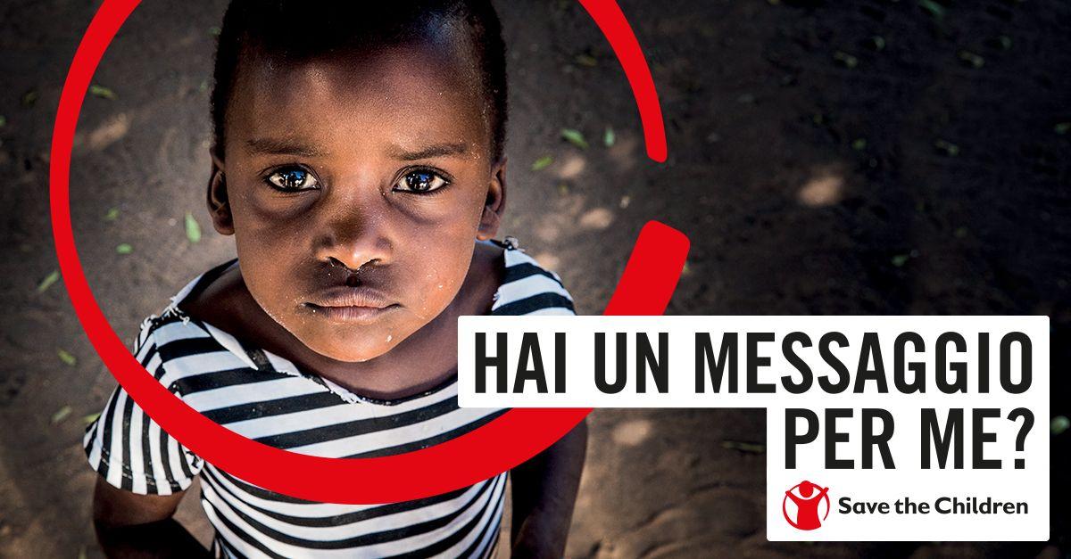 Save the Children: un sms per salvare fino all'ultimo bambino!
