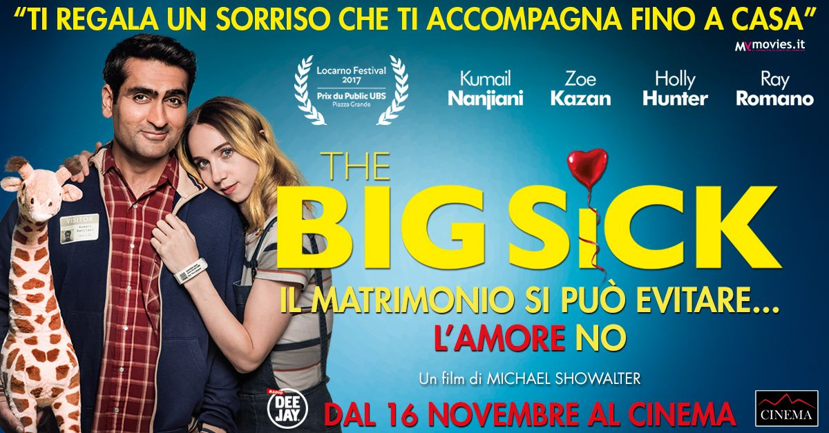 "The Big Sick""- Il matrimonio si può evitarel amore no. Il"