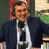"""Mario Calabresi imita Eugenio Scalfari alla scoperta della nuova """"Repubblica"""""""