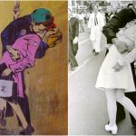Fedez-Ferragni: bacio con selfie fra i 5 murales di TvBoy apparsi a Milano
