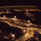 Il quiz di geografia di Paolo Nespoli: riconoscete le città italiane dallo spazio?