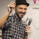 "Samuel ospite di Webnotte canta ""La luna piena"""