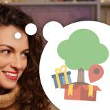 Quanti regali quest'anno non supereranno il Natale? Non sbagliare, regala un albero!