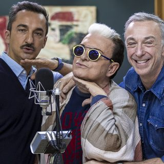 Cristiano Malgioglio show a Deejay Chiama Italia