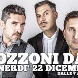 Il 22/12 torna in radio lo Zozzoni Day: partita l'asta solidale del Trio per il CESVI