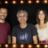 """Ligabue, Stefano Accorsi e Kasia Smutniak a DJCI per presentare il film """"Made In Italy"""""""