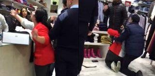 Urla, si accascia e continua a gridare: sceneggiata al centro commerciale di Caserta