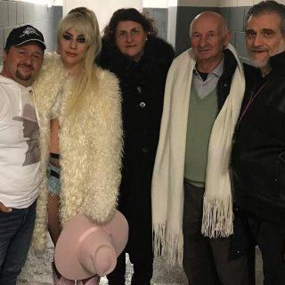 Le foto di Lady Gaga coi parenti dalla Sicilia