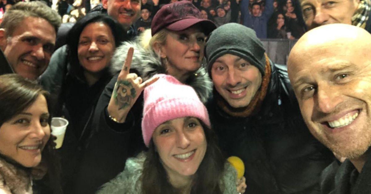 Capodanno 2018. La festa a Riccione con Linus, La Pina, Rudy Zerbi, Chicco Giuliani e Valentina Ricci