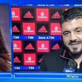 """Buffon compie 40 anni, Gattuso a D'Amico: """"Dagli un bacio con la lingua da parte mia"""""""