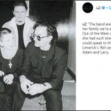 Dolores O'Riordan, dagli U2 ai REM: il saluto social (e commosso) delle star