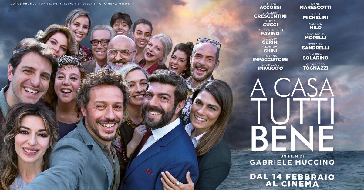 """""""A Casa Tutti Bene"""": Gabriele Muccino torna al cinema con un film corale e un cast ricchissimo"""