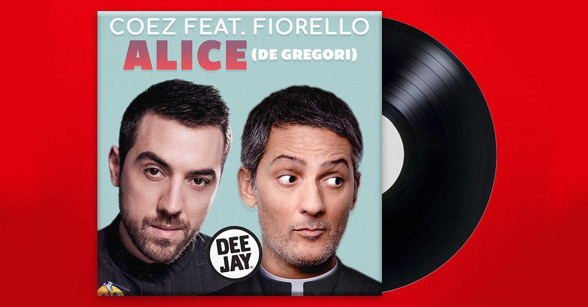 """Coez e Fiorello cantano """"Alice"""" di De Gregori in diretta al Rosario della Sera"""