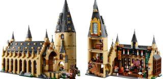 Lego svela il nuovo set dedicato ai fan di Harry Potter: il castello di Hogwarts