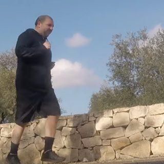 Martino si allena così nella spettacolare campagna pugliese