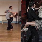 Sanremo. Pierfrancesco Favino e Michelle Hunziker, le prove del sexy balletto sulle note di Despacito