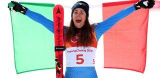 """PyeongChang 2018, Sofia Goggia è oro nella discesa libera: """"La dedico a me stessa e al mio bel Paese"""""""