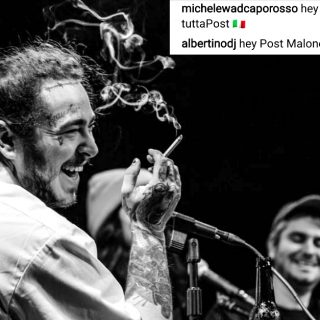 Post Malone in Italia? Albertino riprova la magia
