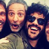 "I nuovi Pooh: Fiorello, Nek, Max Pezzali e Francesco Renga cantano ""Uomini soli"""