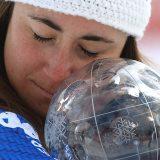 Sci, Sofia Goggia vince la Coppa del mondo di discesa libera