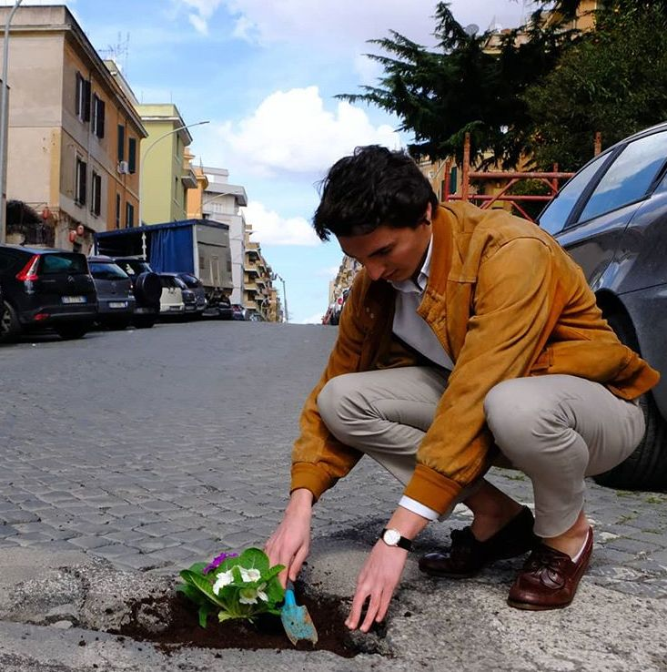 Il problema delle buche a rome